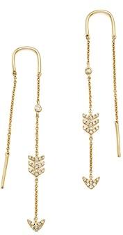 Bloomingdale's Kc Designs 14K Yellow Gold Diamond Micro Pave Drop Chain Earrings