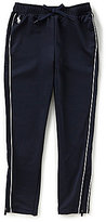 Ralph Lauren Big Girls 7-16 French Terry Track Pants