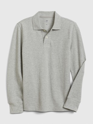 Gap Kids Long Sleeve Polo Shirt T-Shirt