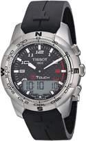 Tissot Men's T0474204720700 T-Touch II Digital Multi Function Watch