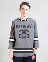 Stussy Ss-link 3/4 Crewneck Sweatshirt