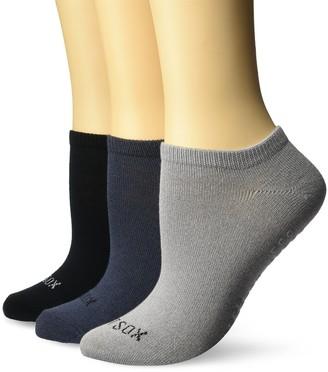 Hot Sox Women's 3 Pack Non-skid Yoga Socks