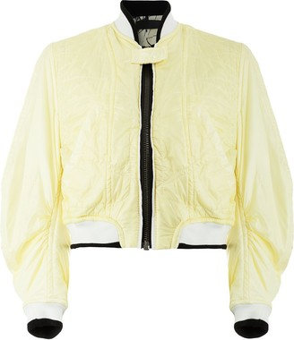 Haider Ackermann quilted bomber jacket
