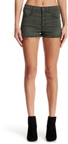 Black Orchid Button Front High Rise Short