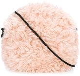 Andorine faux fur cross body bag