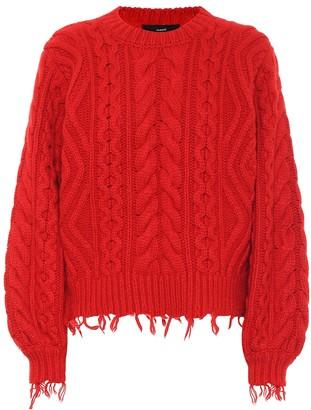 Alanui Fisherman wool and cashmere sweater