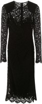 Dolce & Gabbana Lace Draped Dress