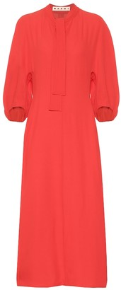 Marni Crepe midi dress
