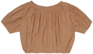 Caramel Queens Park cotton blouse