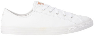 Converse Chuck Taylor All Star Dainty Speckled 568158 White/White/Blush Gold Sneaker