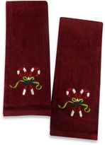 Bed Bath & Beyond Candy Cane Hand Towels (Set of 2)