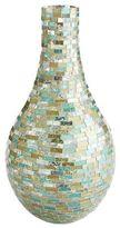 Pier 1 Imports Glacier Mosaic Teardrop Vase