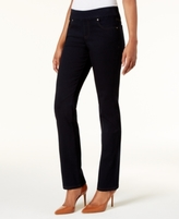Style&Co. Style & Co Style & Co Petite Pull-On Straight-Leg Jeans, Created for Macy's
