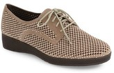 VANELi Women's Aleria Crystal Embellished Perforated Oxford