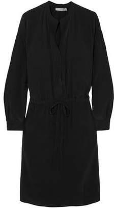 Vince Washed-silk Mini Dress