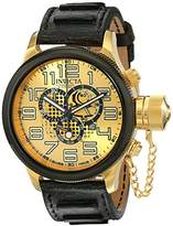 Invicta Men's 14616 Russian Diver Analog Display Swiss Quartz Black Watch