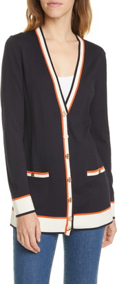 Tory Burch Madeline Oversize Cardigan