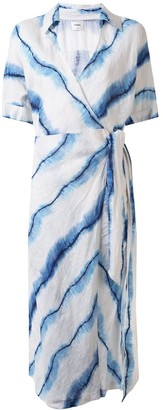 SUBOO Estelle tie-dye maxi dress