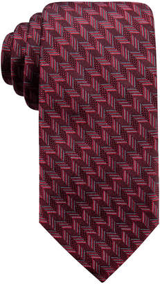 Ryan Seacrest Distinction Men Phelps Slim Geo Silk Tie