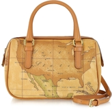 "Alviero Martini 1a Prima Classe - Geo Printed Mini ""New Basic"" Satchel Bag"