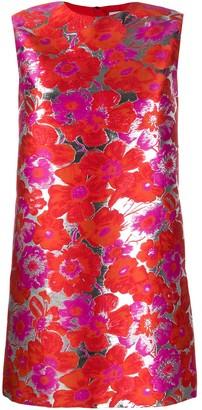 MSGM jacquard floral dress