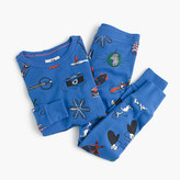 J.Crew Boys' pajama set in winter wonderland
