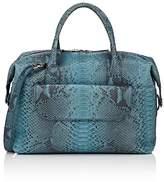 Baraboux Women's Python Duffel Bag
