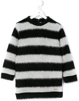 Simonetta striped jumper dress