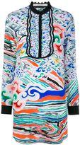 Mary Katrantzou 'Rainbow Cloud' print mini dress - women - Silk/Viscose - 8