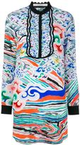 Mary Katrantzou 'Rainbow Cloud' print mini dress