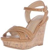 Chinese Laundry Women's Clara Braid Wedge Sandal