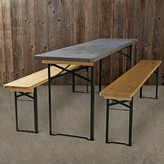 Williams-Sonoma Vintage Galvanized Biergarten Table