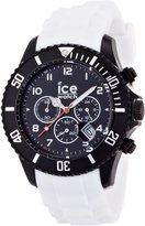 Ice Watch Ice-Watch Men's Chrono CH.BW.B.S.10 White Silicone Quartz Watch with Dial