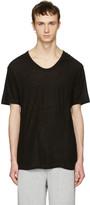 Alexander Wang Black Silk-Blend T-Shirt