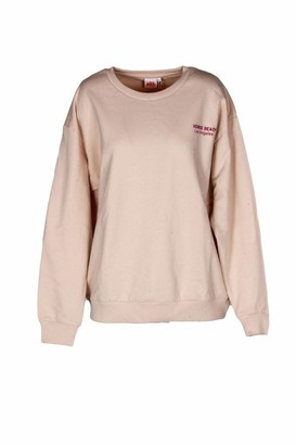 Sundek Back Print Over Sweatshirt - Beige - S