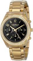 Bulova Caravelle New York Women's 44L116 Gold/ Stainless Steel Watch