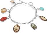 Nuovegioie Mia & Beverly Cameo Charm Bracelet