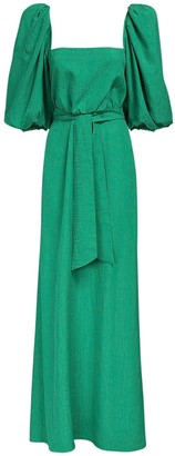 Johanna Ortiz Jacquard Viscose Long Dress