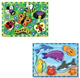 Melissa & Doug Toddler Sea Life And Insect Puzzles