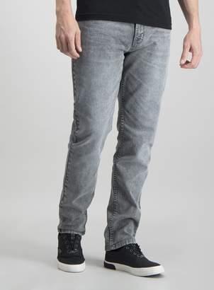 Tu Grey Wash Slim Jeans With Stretch