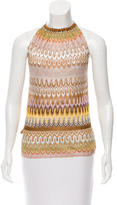 Missoni Patterned Halter Top