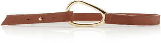 Maison Vaincourt Skinny Leather Belt
