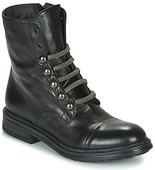 Fru.it ADIETE women's Mid Boots in Black