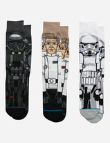 Stance x STAR WARS Rogue One 3 Pack Mens Socks