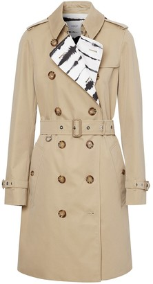 Burberry Watercolour Lined Trench Coat
