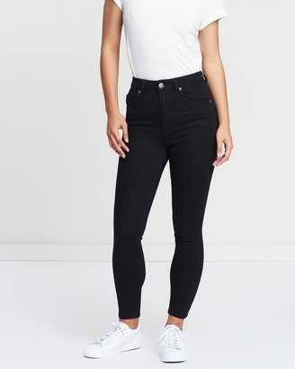 Cotton On High Rise Grazer Jeans