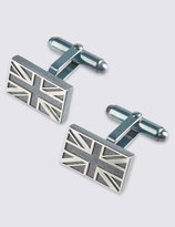 Marks And Spencer Made In The Uk Union Jack Cufflinks