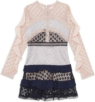 Arabella Bardot Junior Lace Dress