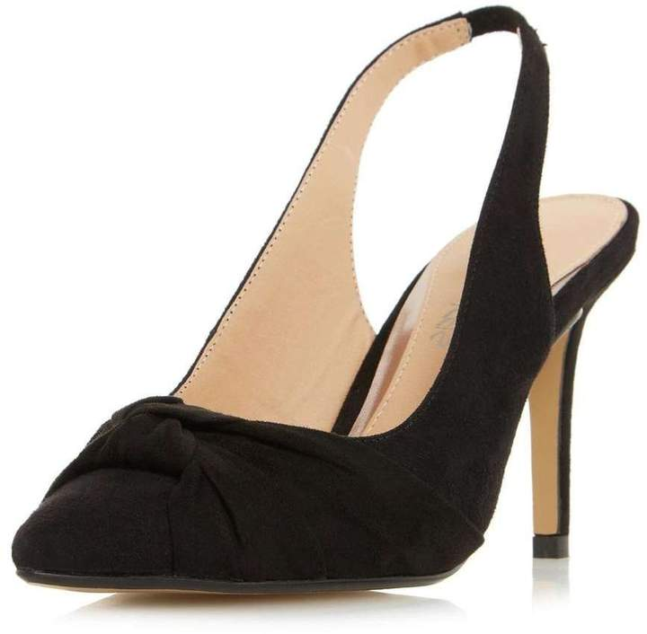d1b14ef9161 Womens *Head Over Heels By Dune Black 'Charlise' High Heel Court Shoes