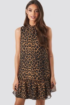 Trendyol Leopard Print Mini Dress